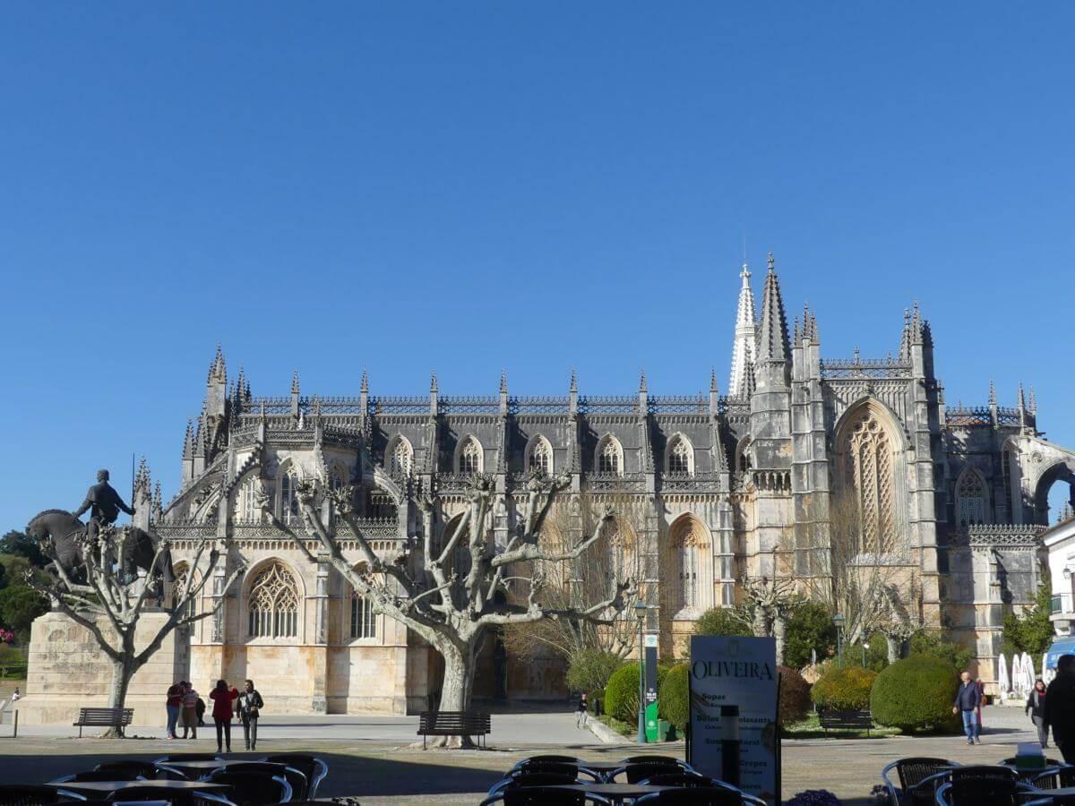 Außenansicht des Klosters Batalha.