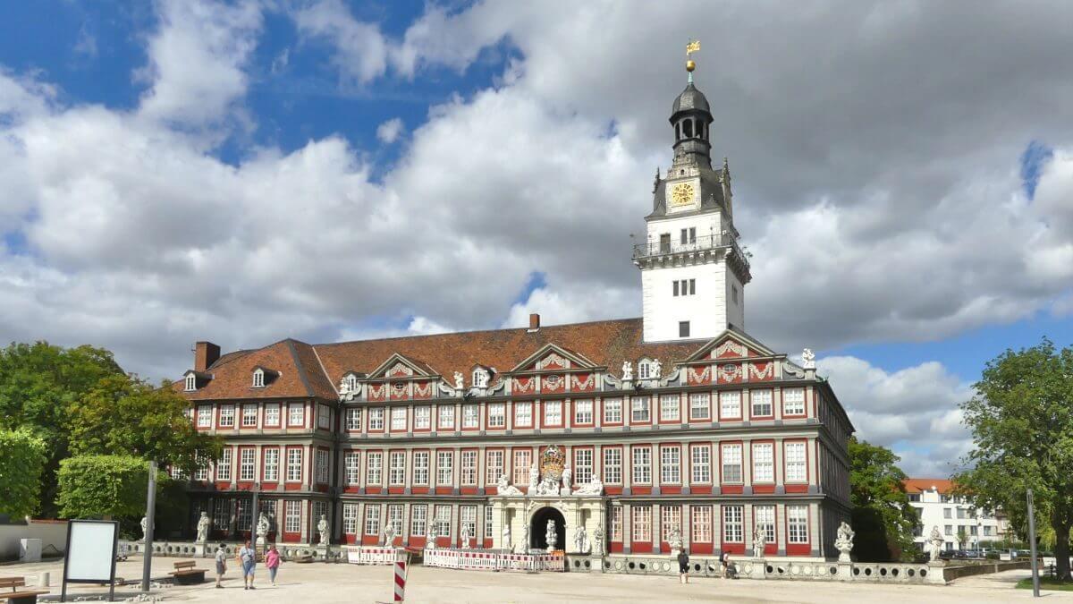 Schloss in Wolfenbuettel.