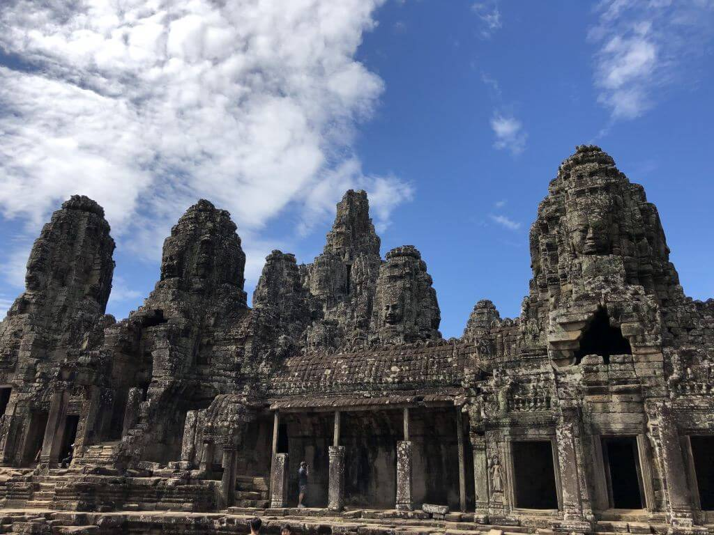 Khmer-Tempel in Angkor Wat.