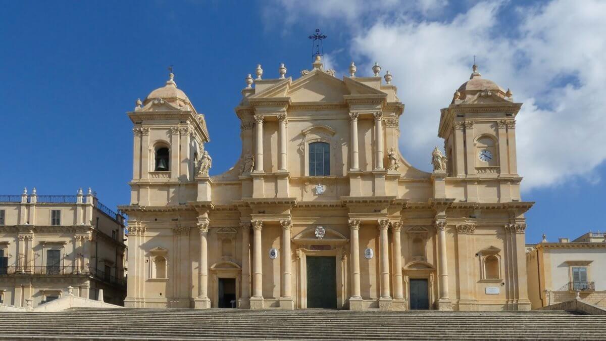Barocke Kathedrale in Noto.