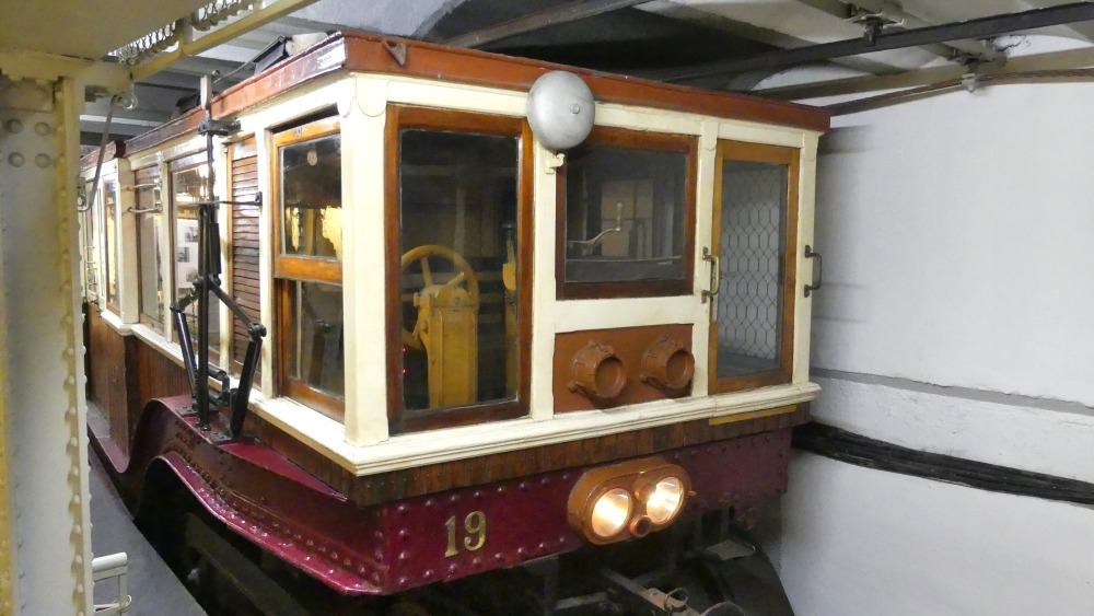 Alter U-Bahn-Wagen.