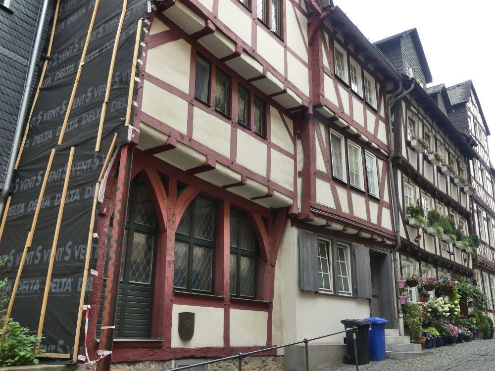 Fachwerkhaus in Wetzlar.