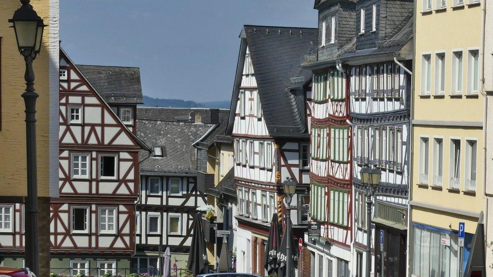 Fachwerkhäuser in Wetzlar.