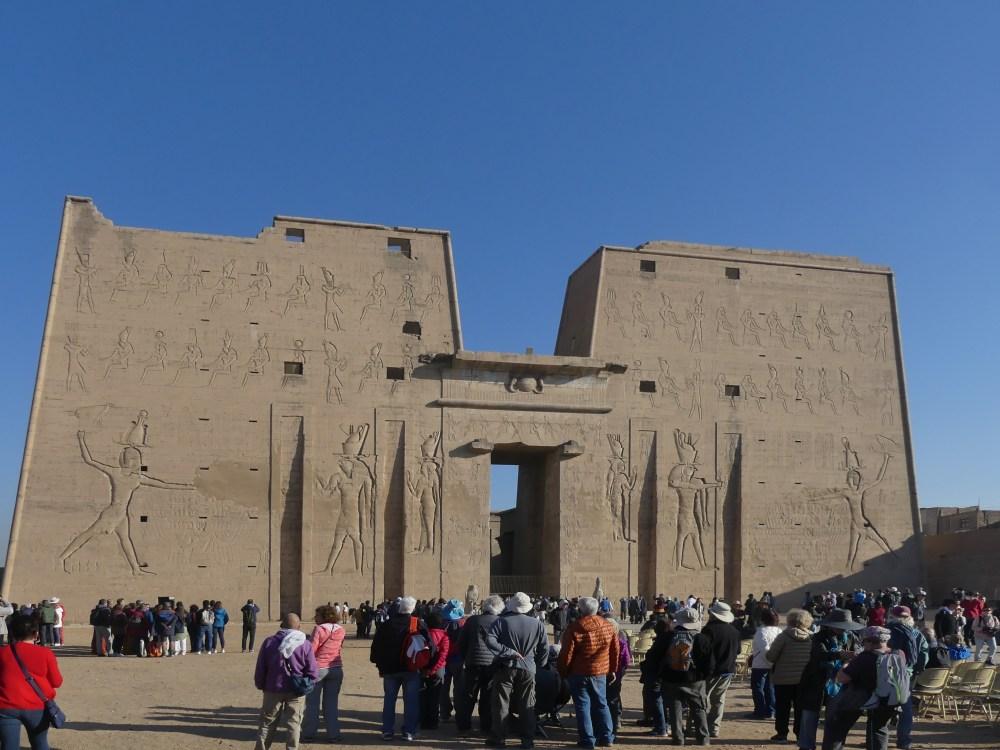 Der Horus-Tempel in Edfu.