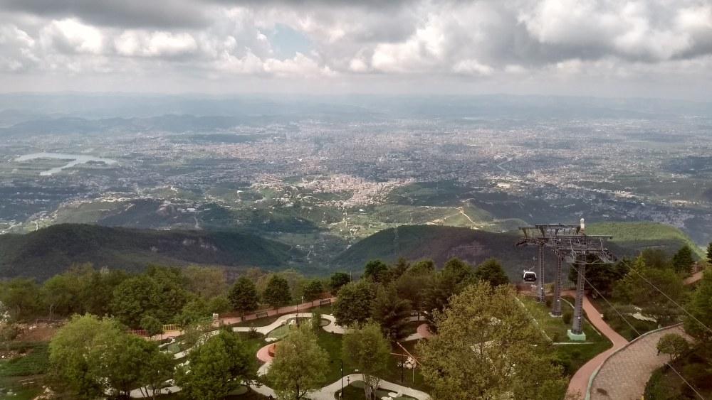 Bick auf Tirana.