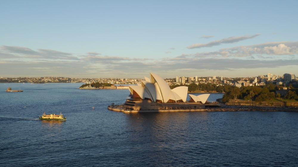 Blick auf die Oper in Sydney.