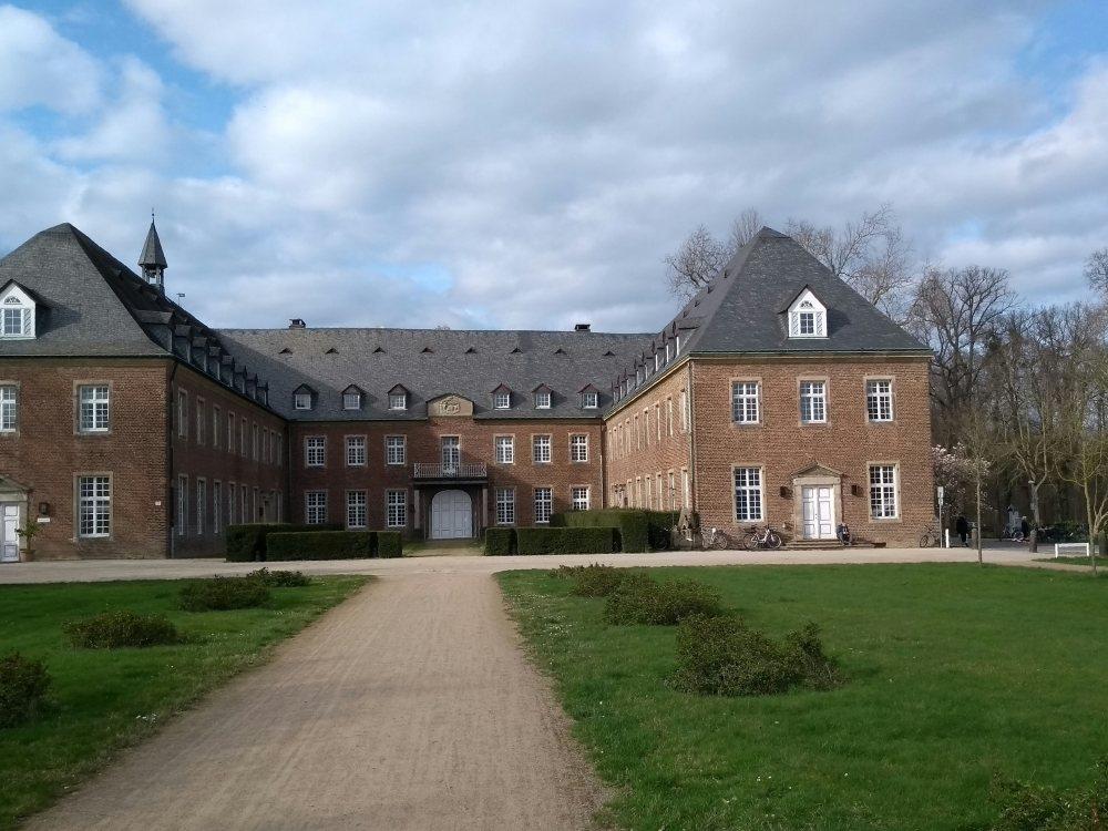 Kloster Langwaden am Niederrhein.
