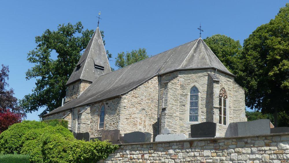 Kleine steinerne Kirche.
