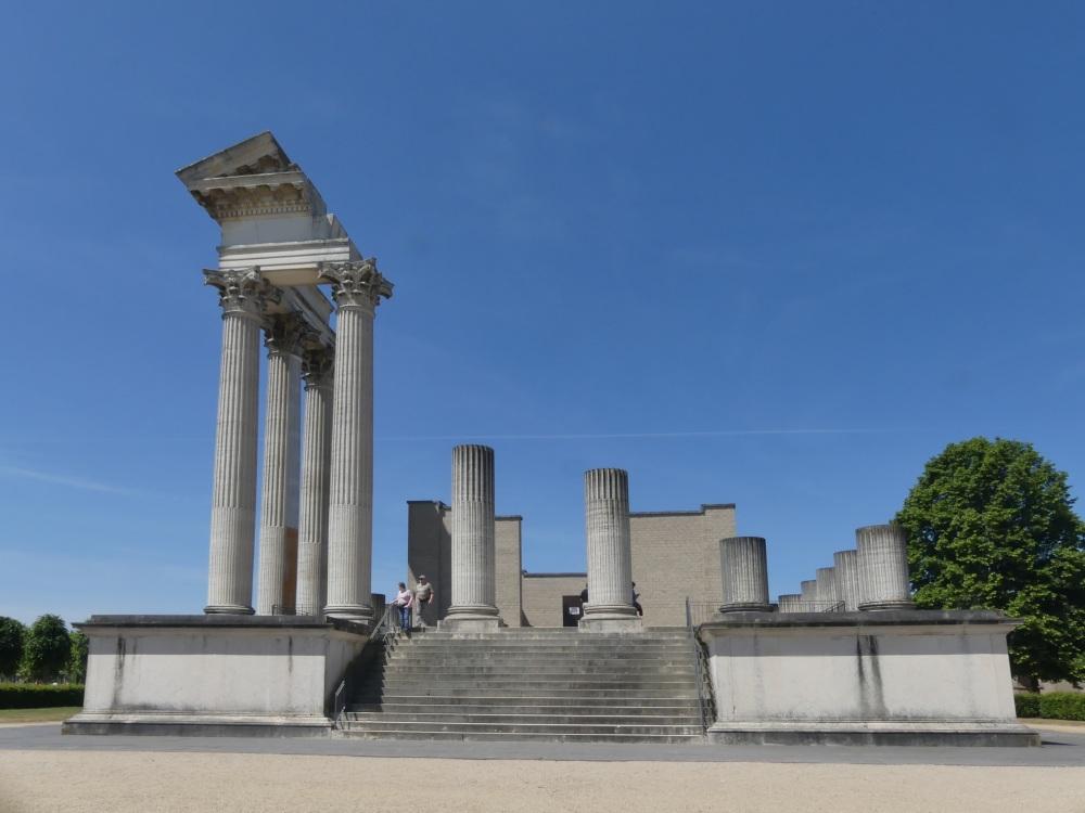 Hafentempel im Archäologischen Park Xanten.