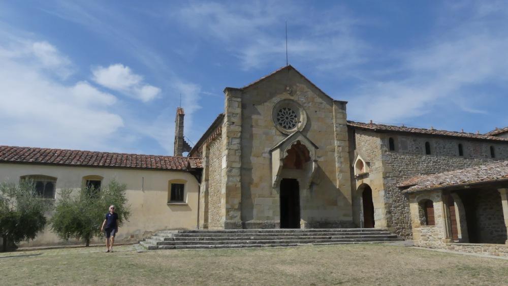 Eingang zum Kloster in Fiesole.
