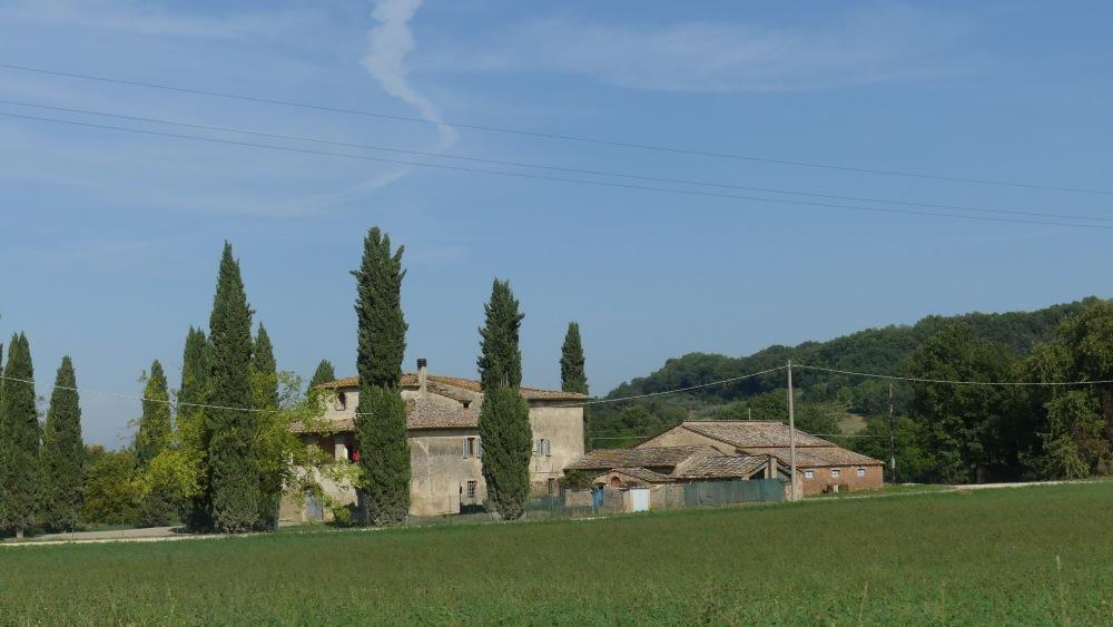 Landschaft in der Toskana.