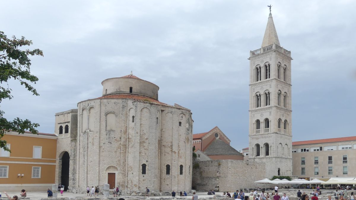 Dom und Campanile in Zadar.