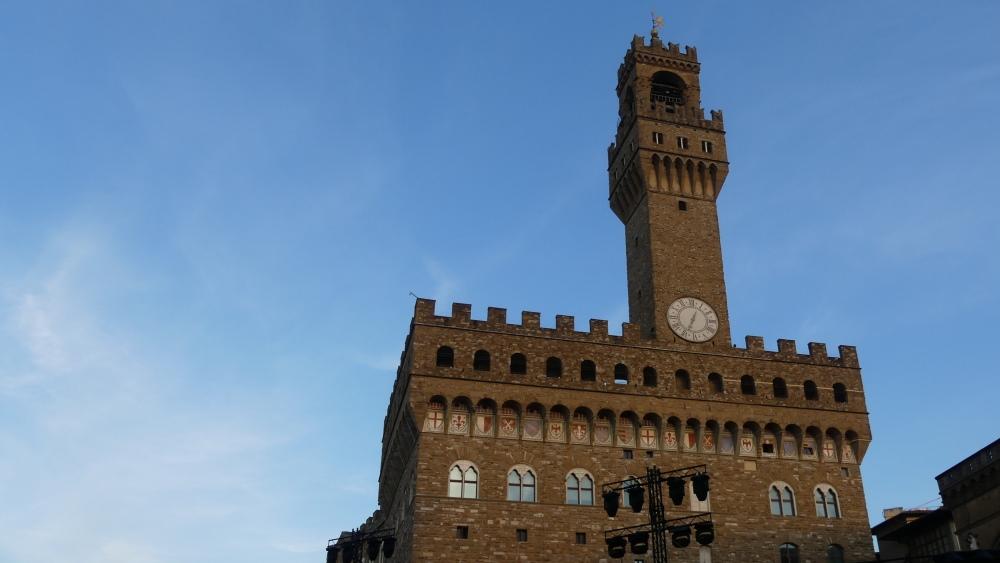 Palazzo Vecchio mit Turm.