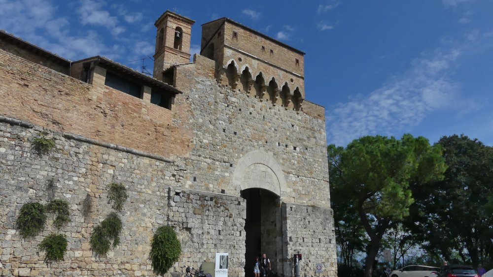 Stadttor in San Gimignano.